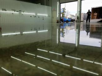 reflective epoxy garage floor austin
