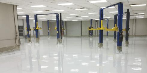 commercial garage coating