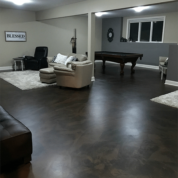 epoxy coating matte mix for residential