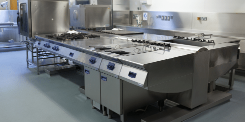 restaurant kitchen epoxy coating